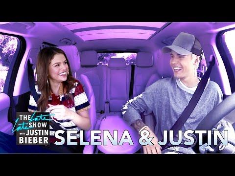 Selena Gomez & Justin Bieber Carpool Karaoke