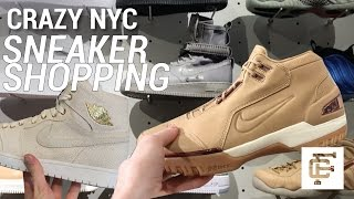 CRAZY SNEAKERS! NEW YORK CITY SNEAKER SHOPPING