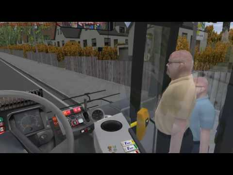 Omsi Renault Karosa Citybus Bowdenham line 91A Apsley Bus Station Rothford Hall
