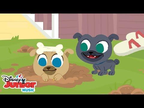 Pop Goes the Weasel  🎶 Disney Junior  Nursery Rhymes  Disney Junior