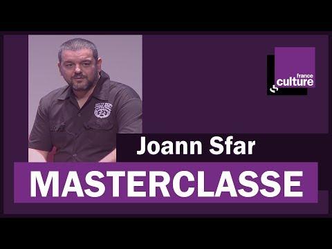 La Masterclasse de Joann Sfar - France Culture