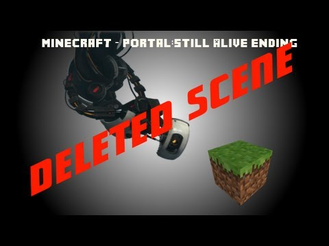 Minecraft Portal: Still Alive Ending [DELETED SCENE]