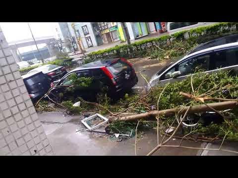 Macao typhoon 2017-08-23