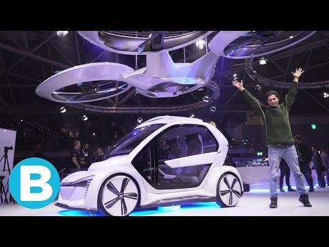 Dit is de drone-auto van Audi en Airbus. Bright zat er al in
