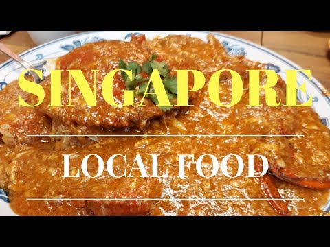 Singapore Hawker Stall Food Tour 2017