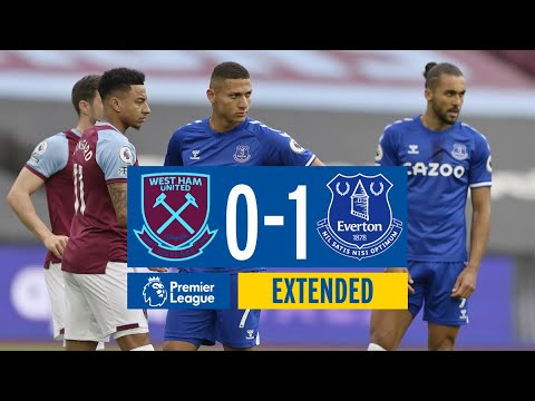 EXTENDED HIGHLIGHTS: WEST HAM 0-1 EVERTON