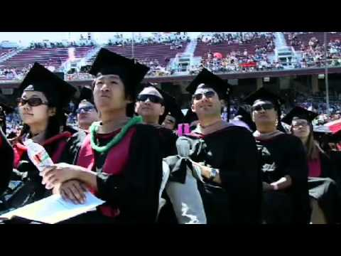 Stanford University Commencement 2012