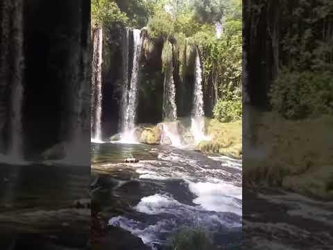 Antalya Düden Şelalesi  Waterfall  Turkey Part 1