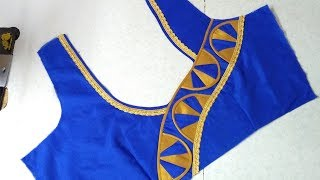 Simple blouse design stitching at home || Women's fashion blouses