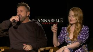 Annabelle: Creation: Anthony LaPaglia & Miranda Otto Official Movie Interview