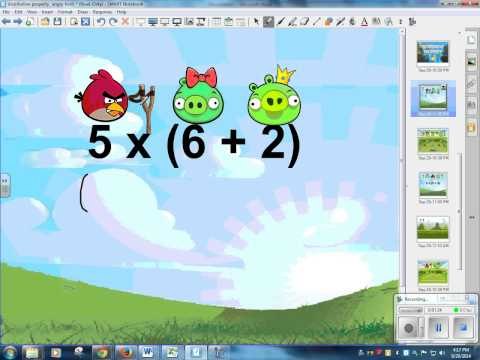 Distributive Property Angry Birds