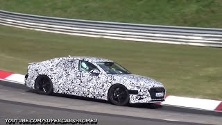 2019  Audi S7  Spied Testing at The Nurburgring ,Nordschleife!
