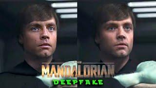 Luke Skywalker Fixed in The Mandalorian [Deepfake]
