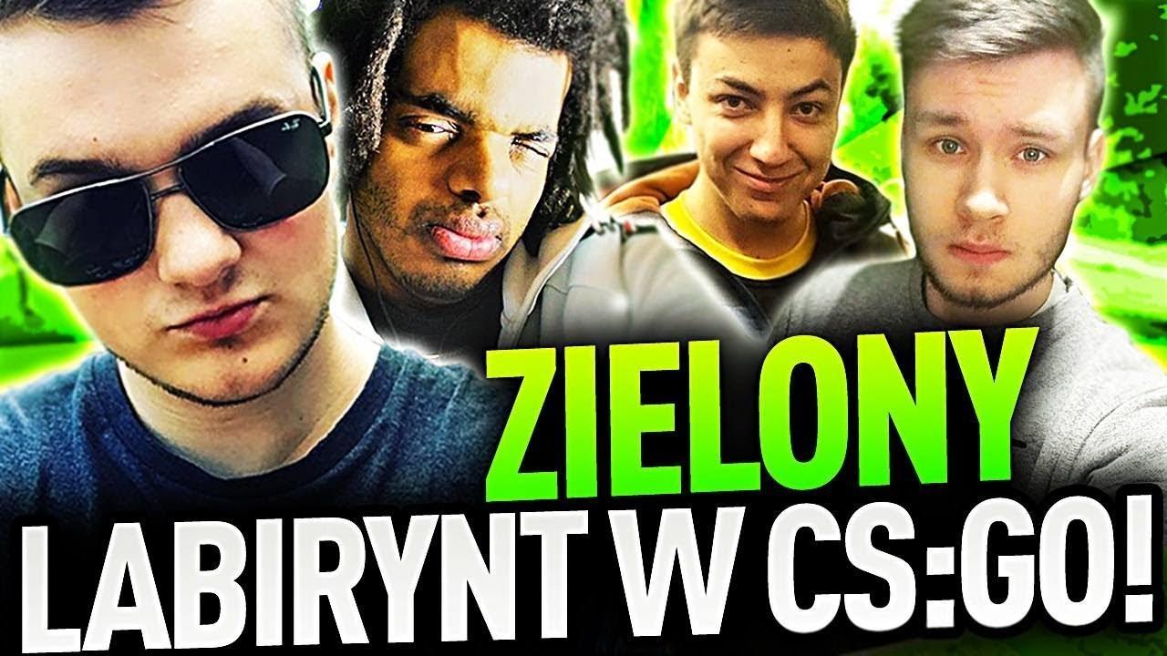 ZIELONY LABIRYNT W CS:GO!