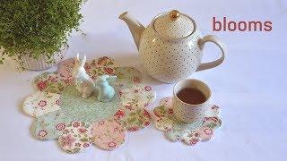 Patchwork blooms – MODA Fabrics – Porcelain
