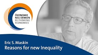 Eric S. Maskin: Reasons for New Inequality
