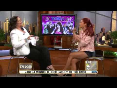 Ariana Grande on PIX Morning  July 18, 2011