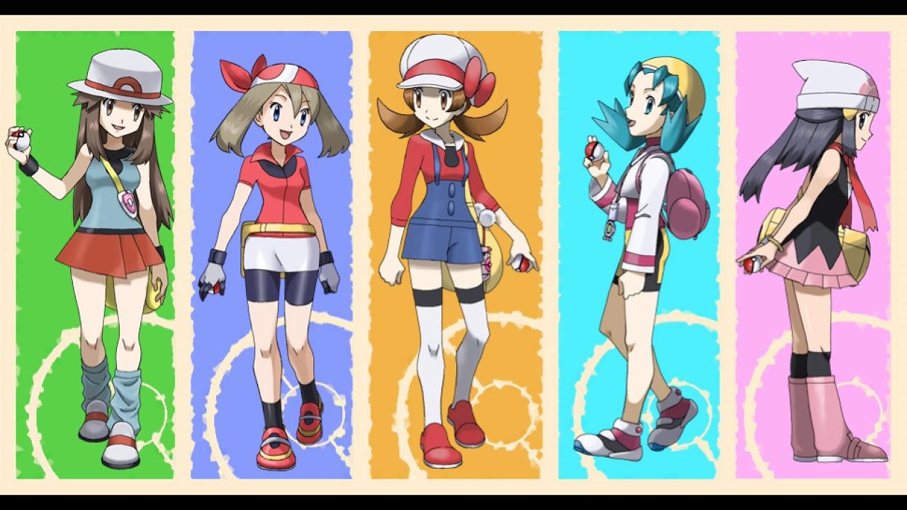 все персонажи из покемонов самые интересные обсуждаемые