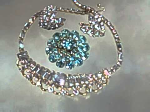 Alexandrite Rhinestone Jewelry Changing Colors