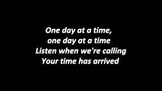 Black Veil Brides - Days are numbered with lyrics