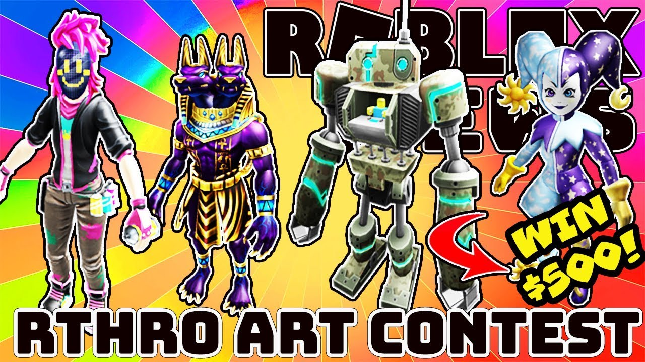 Roblox News Rthro Art Contest Is Back Winners Get 500 Cash