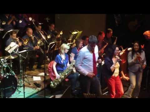 Bigband New Edition - Boogie Wonderland - 't Oale Roadhoes Tubbergen 13april2013