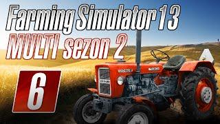 Farming Simulator 2013 na multiplayer-SEZON 2-odc.6  | Dojrzałe zboże...