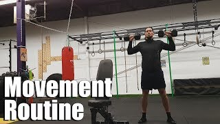 Quick Full Body Movement Routine at Crossfit Gym