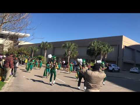 Jim hill high school 2020 at Gulf Coast MLK PARADE