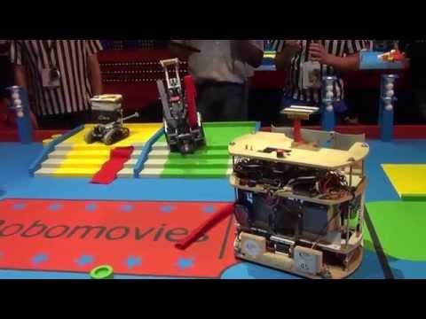 2015 - PM-ROBOTIX (22) vs Robotik UTT (26) - Coupe de France Robotique 2015