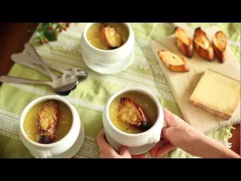 soupe-à-l-'oignon-gratinée