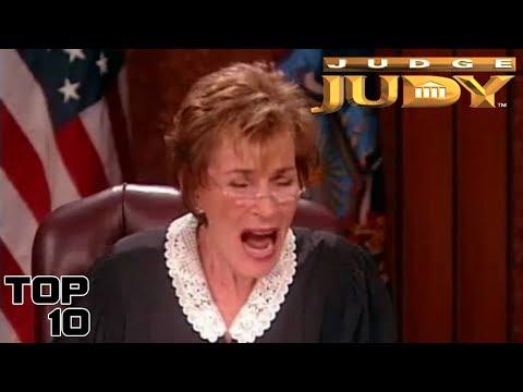 Top 10 Judge Judy Savage Moments