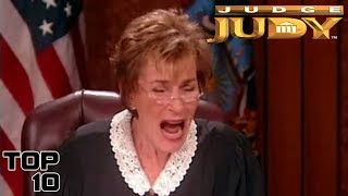 Top 10 Judge Judy Savage Moments