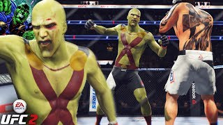 Martian Manhunter Catching Bodies In The UFC! EA Sports UFC 2 Ultimate Team