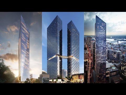 Montreal, Canada Future Skyscrapers — Under Construction, Proposed
