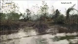 Nigeria Ölförderung Umwelt  Ölkonzerne Mangrovenwälder Kampf um Öl