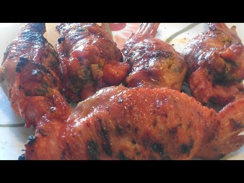 How To Make Stuffed Chicken Wings Youtube