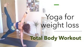 Weight Loss Yoga | Total Body Workout | Yoga With Amari Yoga