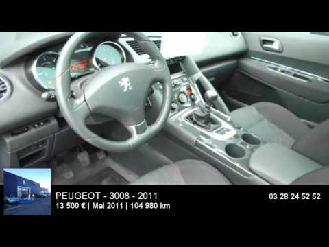 annonce occasion peugeot 3008 1 6 hdi112 fap premium pack 2011 youtube. Black Bedroom Furniture Sets. Home Design Ideas