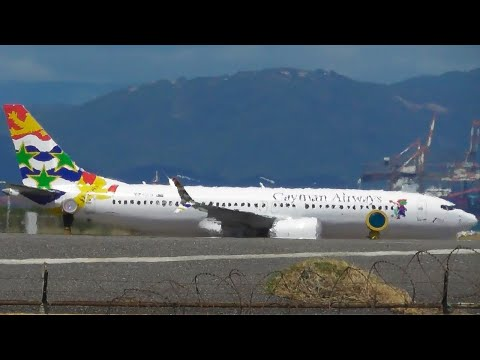 Cayman Airways Boeing 737 MAX 8 at Kingston Norman Manley Int'l Airport | KIN | 12-03-21