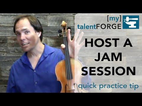 Host a Jam Session - Quick Tip