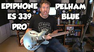 Epiphone ES 339 Pro Pelham Blue