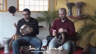 MAKSUM rhythm, darbuka and riq solos - Sons de l