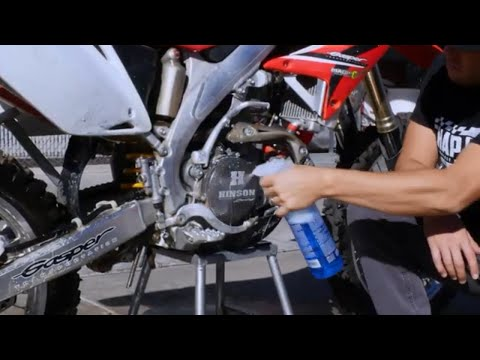 Wash Your Bike the Easy Way - Maxima BioWash and Maxima Contact Cleaner DIY