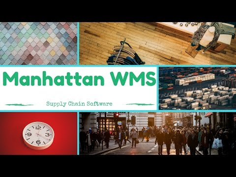 Manhattan WMS Training | Manhattan WMS Tutorials | MaxMunus