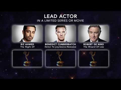 69th Emmy Nominations: Lead Actor in a Limited Series or Movie