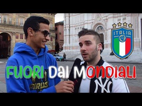 Gli ITALIANI Cosa Pensano Dell'Italia FUORI Dai Mondiali Di Calcio? ●  Interviste Ignoranti