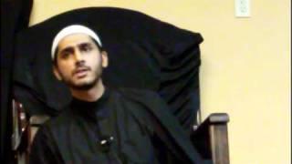 Shiekh Murtaza Bachoo on Shahadat of Imam Sajjad Az Zahraa Center Vancouver Part 2