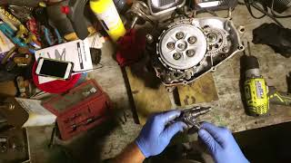 Blaster bottom end disassembly clutch removal PART 1
