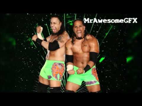 The Usos 1st WWE Theme Song - Get Up (Lyrical) [High Quality + Download Link]